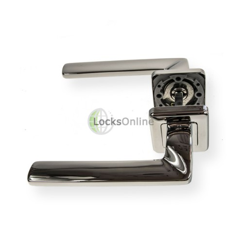 "LocksOnline ""Zenith"" Lever Door Handle on Square Rosette"