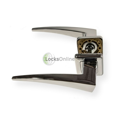 "LocksOnline ""Comet"" Lever Door Handle on Square Rosette"