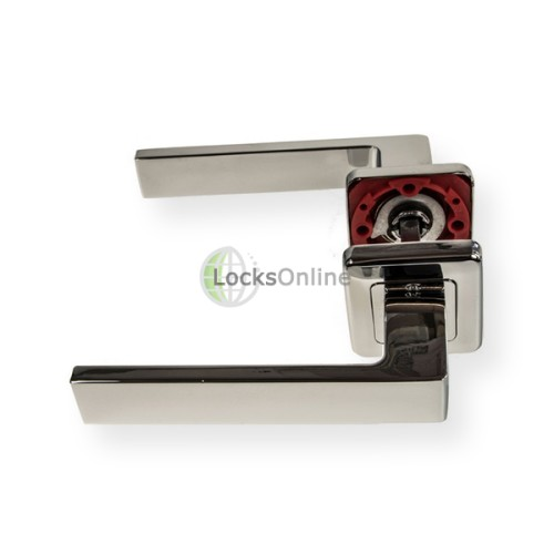 "LocksOnline ""Kate"" Lever Door Handle on Square Rosette"