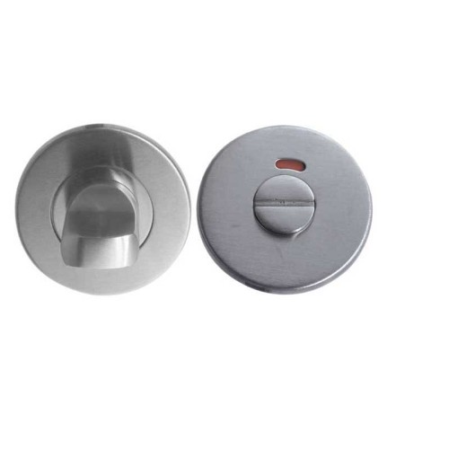 LocksOnline Standard Stainless Steel Bathroom Door Lock Set