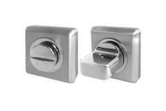 LocksOnline Square Bevelled Bathroom Door Lock Set