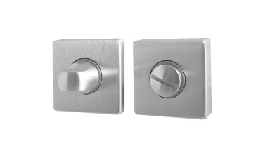 "LocksOnline ""Rombo"" Square Bathroom Door Lock Set"