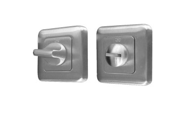 LocksOnline Square Framed Bathroom Door Lock Set