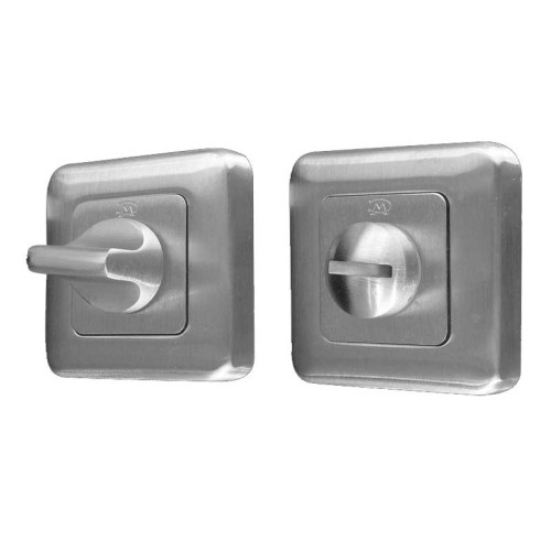 Main photo of LocksOnline Square Framed Bathroom Door Lock Set