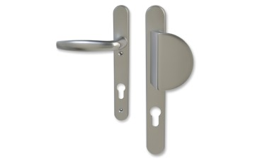 Hoppe 92mm PZ uPVC Lever & Fixed Pad Handle - 220mm (122mm fixings)