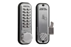 Lockey 2500 Mechanical Push Button Lock for Sliding Doors