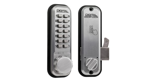 Buy lockey 2500 mechanical push button lock for sliding doors locks online - Sliding door combination lock ...