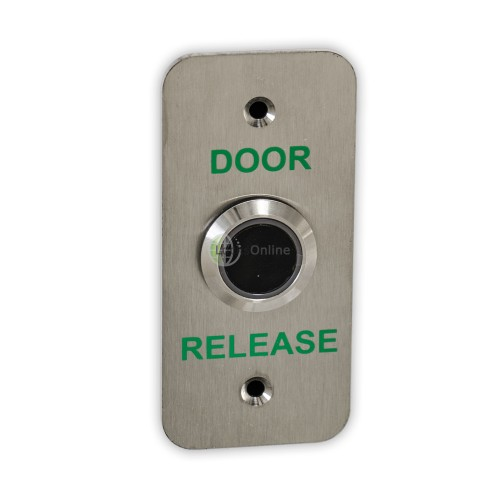 Hands-Free Slimline Contactless Door Release / Exit Button