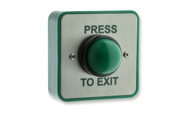 LocksOnline High-Impact Weatherproof Green Dome Exit Button