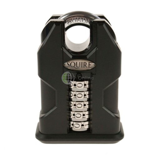Squire SS50C Stonghold Steel Closed Shackle Recodable Combination Padlocks