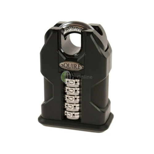 Main photo of Squire SS50C Stonghold Steel Closed Shackle Recodable Combination Padlocks