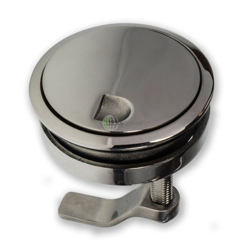Stainless Steel Hatch Lock (with cover)