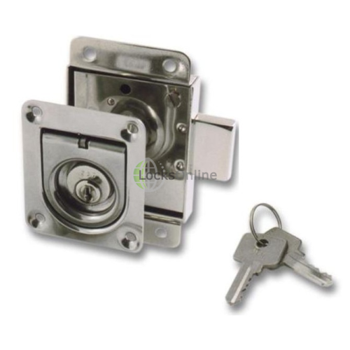 Main photo of Timage Cylinder Rim Locks Supplied with Flat Striker