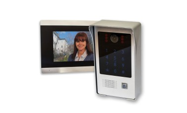 C80 Home Video Doobell Intercom System with PIN Code & Fob Entry