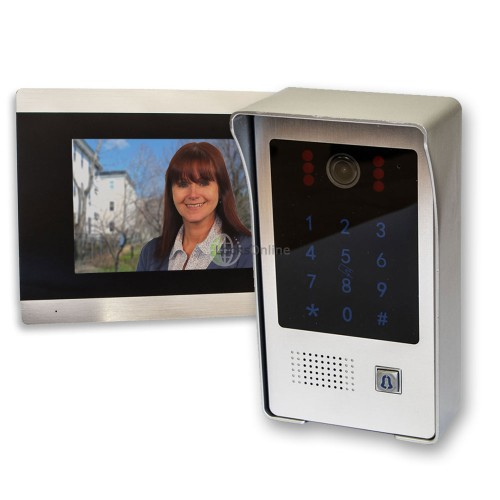 Main photo of C80 Home Video Doobell Intercom System with PIN Code & Fob Entry