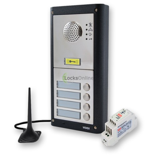 Videx GSM PRO Audio & Proximity Intercom Door Entry Kits