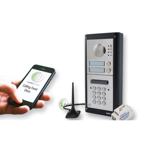 Main photo of Videx GSM PRO Audio, Proximity & Keypad Intercom Door Entry Kits
