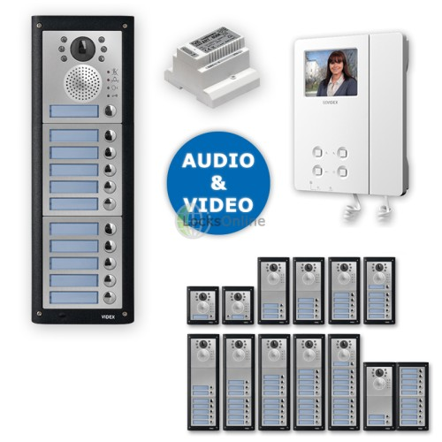 Main photo of Videx Professional Video Intercom Door Entry Kit