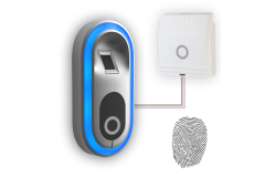 BIOSYS Biometric Fingerprint Reader - Standalone & Weigand