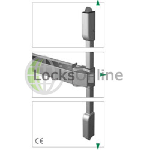 Main photo of Exidor 400 Touch Bar 3 Point Locking With Pullman Catches
