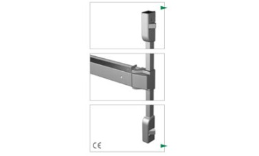 Exidor 400 Touch Bar 2 Point Locking With Horizontal Catches