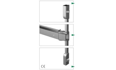 Exidor 400 Touch Bar 3 Point Locking With Horizontal Catches