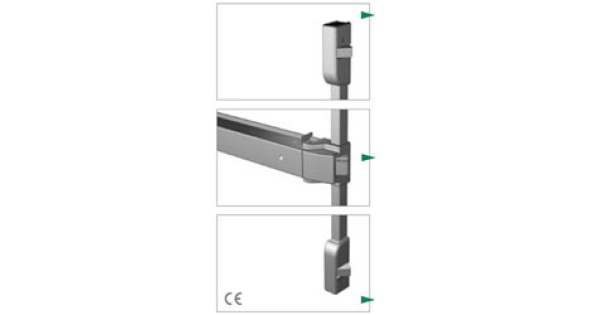Buy Exidor 400 Touch Bar 3 Point Locking With Horizontal