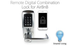 The Remotely Programmable Digital Code Lock for AirBnB