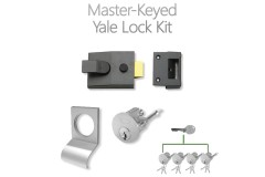 LocksOnline Complete Master-Keyed Yale Lock Kit