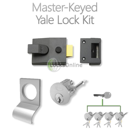 Main photo of LocksOnline Complete Master-Keyed Yale Lock Kit