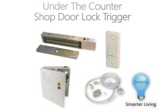 Shop Door Lock & Under-Counter Trigger System