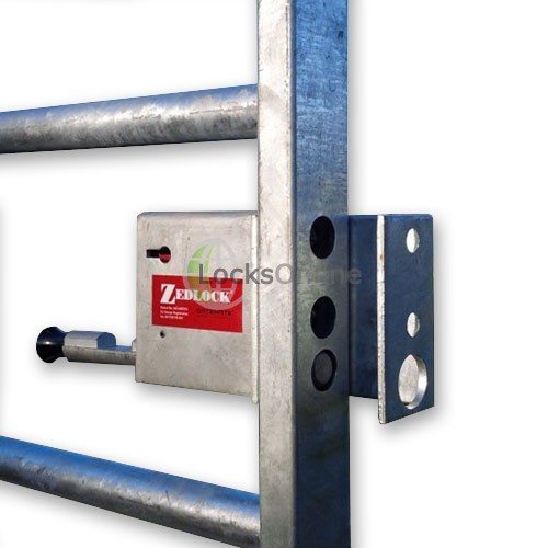 Zedlock Coupling Claw-Bracket for Double Gates