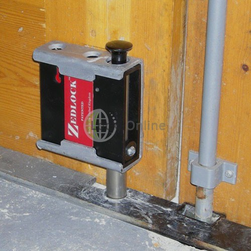 Zedlock Gate Lock Surface-Mounting Kit