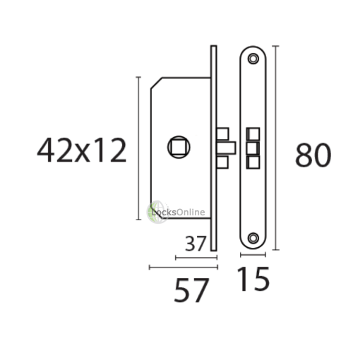Timage Marine Internal Door Latches Supplied with keeper