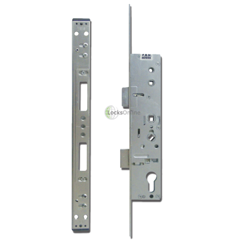 Main photo of YALE Doormaster Lever Operated Latch & Deadbolt 16mm Twin Spindle Overnight Lock To Suit Lockmaster
