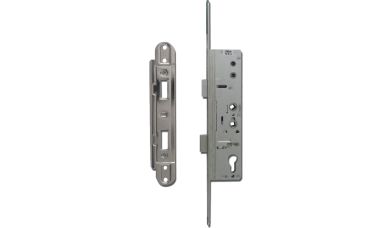 YALE Doormaster Lever Operated Latch & Deadbolt 20mm Twin Spindle Overnight Lock To Suit Lockmaster