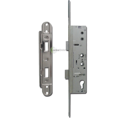 Main photo of YALE Doormaster Lever Operated Latch & Deadbolt 20mm Twin Spindle Overnight Lock To Suit Lockmaster