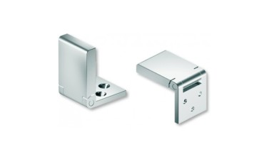 316 Stainless Steel Mirror Polished Flush Hinge