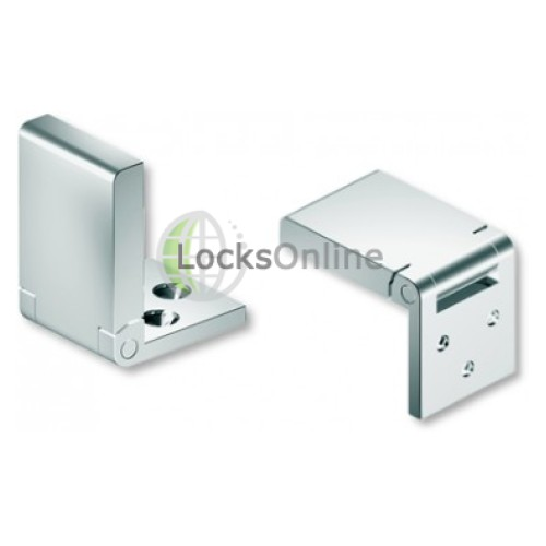 Main photo of 316 Stainless Steel Mirror Polished Flush Hinge