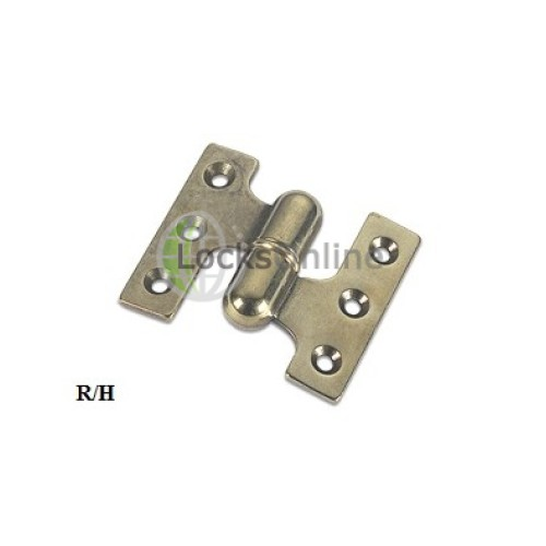 Main photo of Lift off Hinge in Brass or Chromium plated Model 113