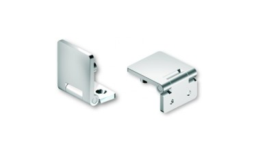 Mirror Polished 316 Stainless Steel Hinge, With Concealed Fixing