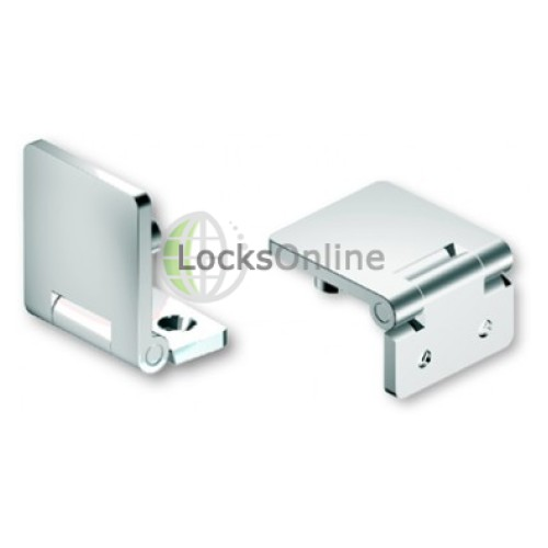 Main photo of Mirror Polished 316 Stainless Steel Hinge, With Concealed Fixing