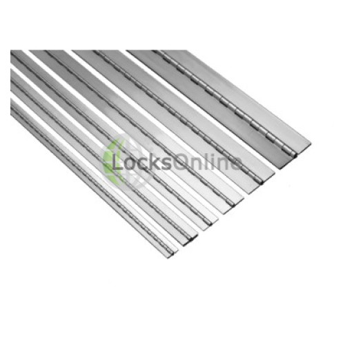 Continuous Piano Hinge Grade 316 Stainless Steel