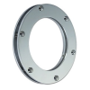 Slim Round Fixed Porthole in Brass or Chromium plated