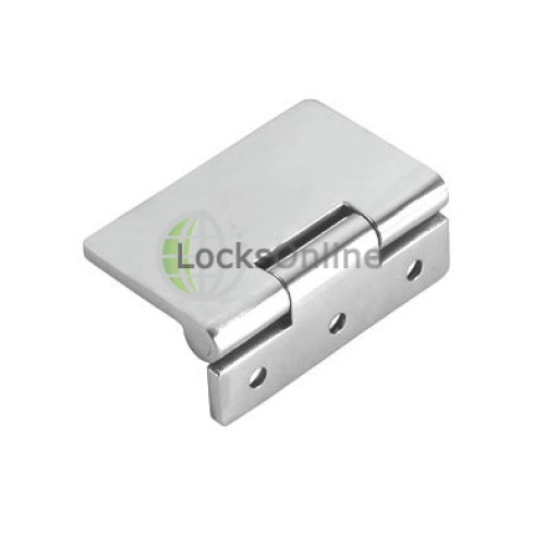 Main photo of Flush Hinge in Grade 316 Stainless Steel - Open Side