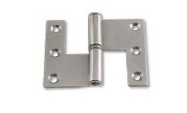 Butt Lift Off L Shape Hinges Stainless Steel, Grade 304