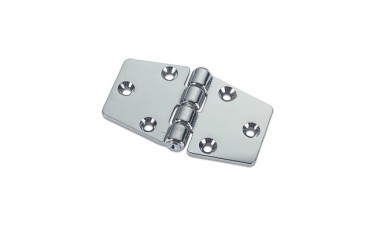 Tapered Double Tail Hinges in Brass or Chromium plated