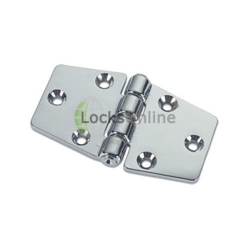 Main photo of Tapered Double Tail Hinges in Brass or Chromium plated
