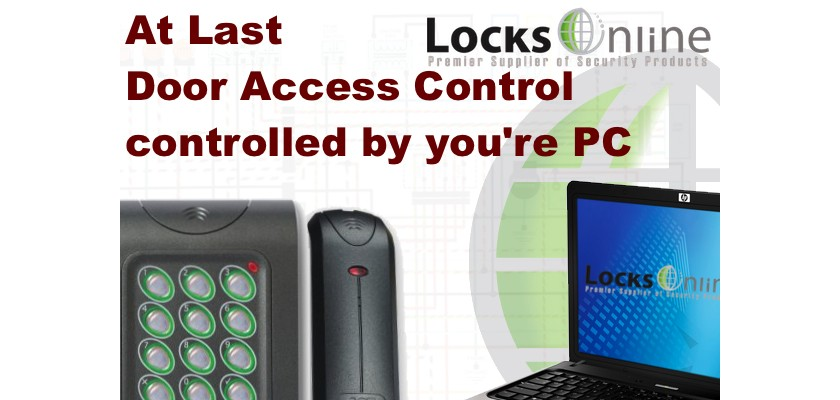 Control your door access system with your PC