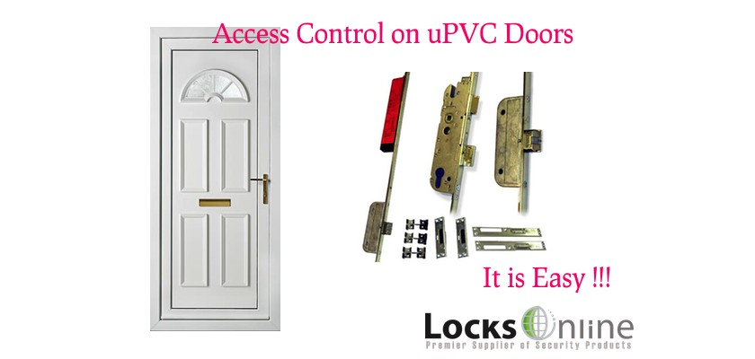 Access Control - UPVC Plastic Doors - it is so Easy !